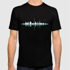 Music City ( Black version ) Mens Fitted Tee Black SMALL