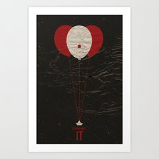 Pennywise The Clown - St… Art Print