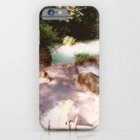 Kanchanburi TH - Erawon Waterfalls  iPhone 6 Slim Case