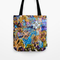 Gold, Glitter, Gems and Sparkles Tote Bag