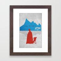 Enjoy the Silence Framed Art Print