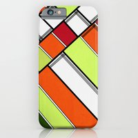 iPhone & iPod Case featuring Lined II by F. C. Brooks