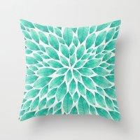 Petal Burst #12 Throw Pillow