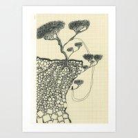 Artificial Tree N.17 Art Print