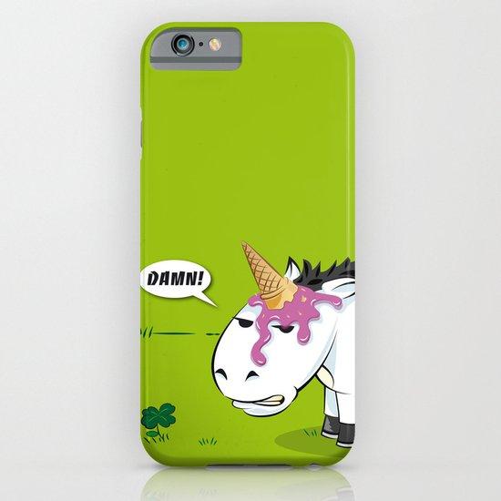 Damn! Bob, the Unlucky Horse! iPhone & iPod Case
