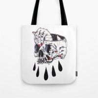 Dark Tote Bag