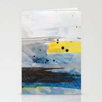 Dusty Sea Stationery Cards
