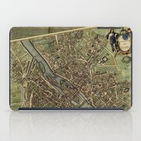 Old Paris Map And Other … iPad Case