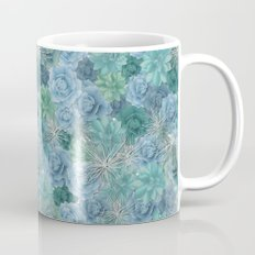 Succulent pattern Mug