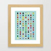 Minimalism SH Framed Art Print