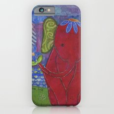 Play with Me Mixed Media Collage Art  iPhone 6 Slim Case