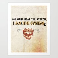 The System Art Print