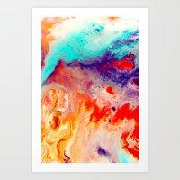 Overhead Art Print