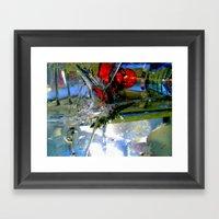 Smashed Framed Art Print