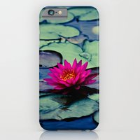 Twilight at the Lily Pond iPhone 6 Slim Case