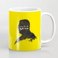 Mark it Zero –Walter Sobchak Silhouette Quote Mug