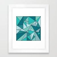 Blueup Framed Art Print