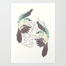 Birds of Summer Art Print