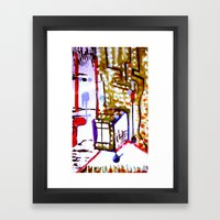 window box Framed Art Print