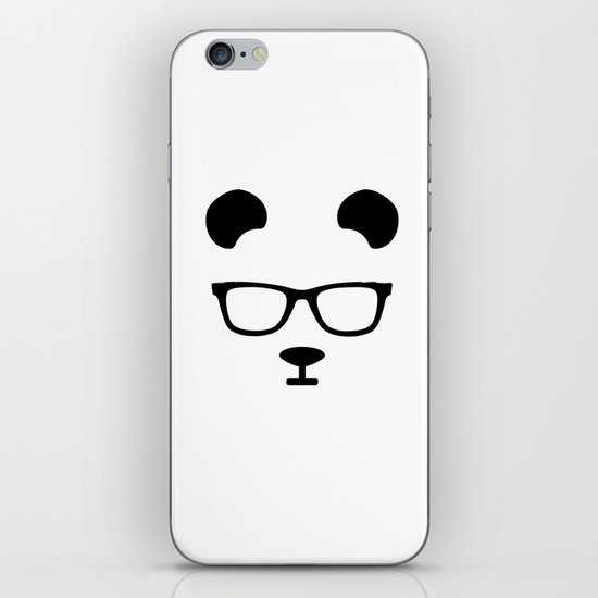 Nerd Panda iPhone & iPod Skin