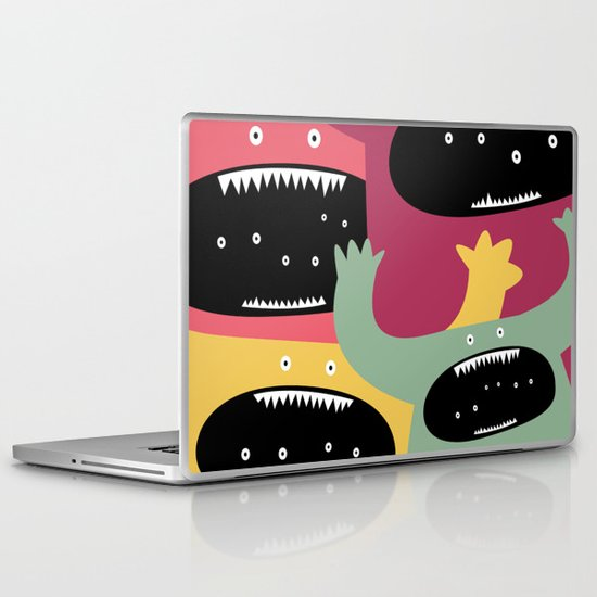 Monster medley. Laptop & iPad Skin