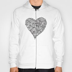 Hairy Heart  Hoody
