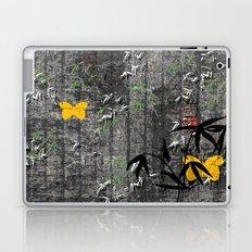 Yellow butterflies Laptop & iPad Skin