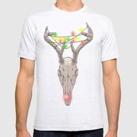 rudolph Mens Fitted Tee Ash Grey SMALL