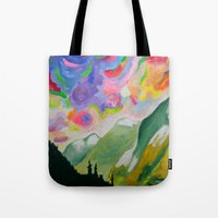 First Snow On The Coquih… Tote Bag