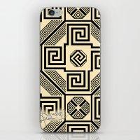 Kagome Fret Lattice. iPhone & iPod Skin