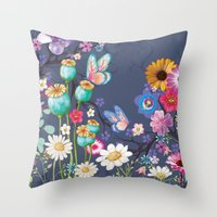 The Meadow Throw Pillow
