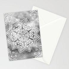 MOONLIGHT MANDALA Stationery Cards