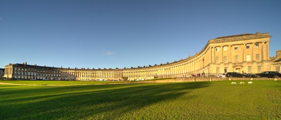 Bath Royal Crescent  Art Print