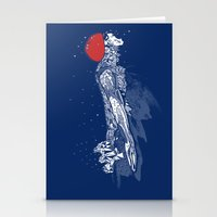 Olympic Swimmer  Stationery Cards