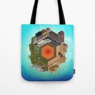 A Tiny World Tote Bag