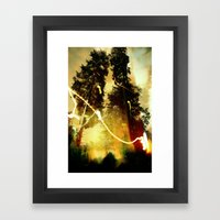 Fire Keeper Soul Framed Art Print
