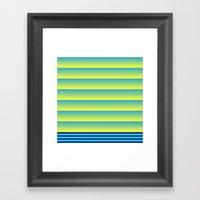 Bands Framed Art Print
