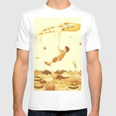 Food Mens Fitted Tee White SMALL