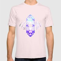 Aztec Track Mens Fitted Tee Light Pink SMALL