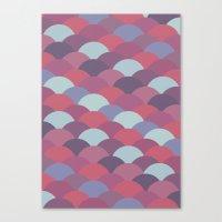 Circles Abstract 2 Canvas Print