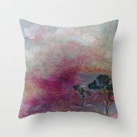 Dustbowl Sunset Throw Pillow