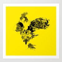 doodlefun2 Art Print