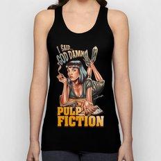 Mia Wallace - Pulp Fiction Unisex Tank Top