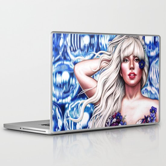 Mother Monster O2  Laptop & iPad Skin