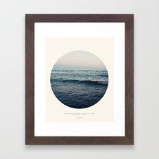 In Storm Framed Art Print