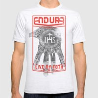 ENDURE IHS Mens Fitted Tee Ash Grey SMALL