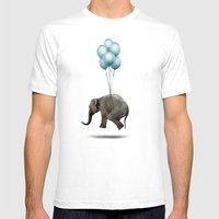 Dumbo Mens Fitted Tee White SMALL