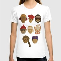 wes anderson T-shirts featuring Wes Anderson Hats by godzillagirl