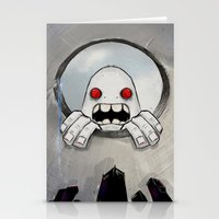 Scream (Looking In) Stationery Cards