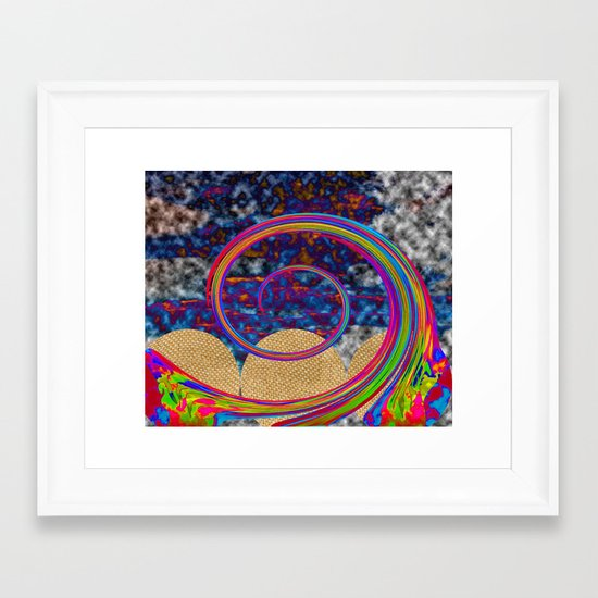 Whew Framed Art Print